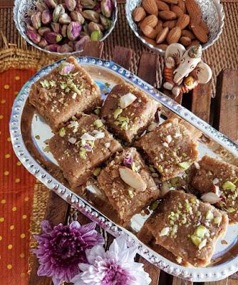 Sukhdi or Goud Papdi - Traditional Gujarati Winter Sweet