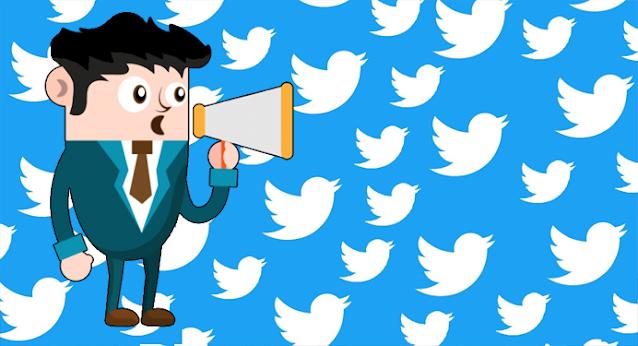 Icono difusión Twitter