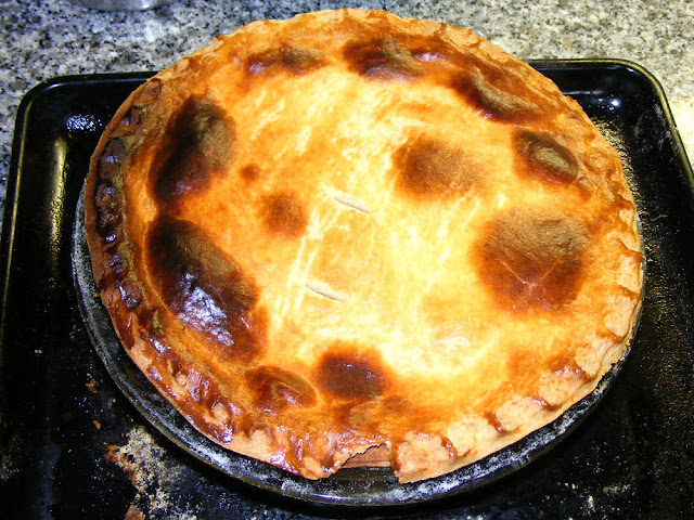 Chicken and rabbit pie. Cooked and Photographed by Susan Walter. Tour the Loire Valley with a classic car and a private guide.