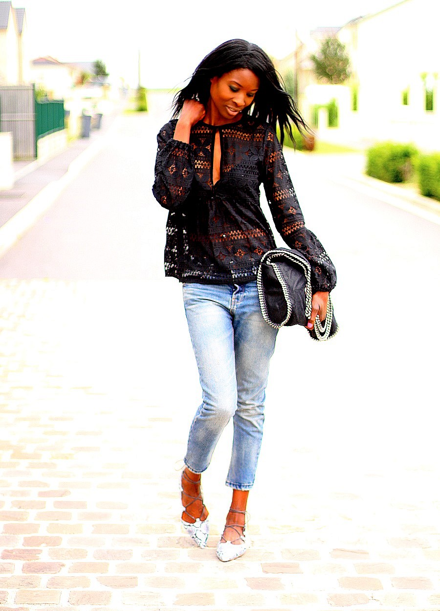 top-dentelle-sac-falabelle-stella-mccartney-mom-jeans-mocassins-lacets-topshop-blog-mode