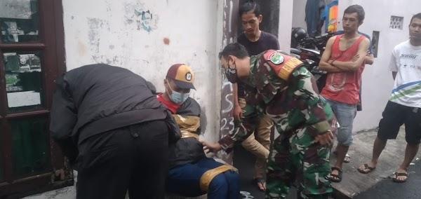 TNI Amankan Maling Berpistol Diikat Warga, Ternyata Intel Polda Metro