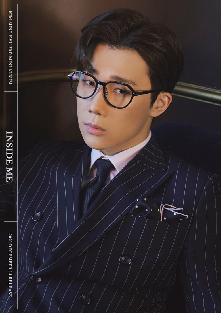 INFINITE's Sunggyu Looks Classy and Mysterious on 'INSIDE ME' Teaser Photo