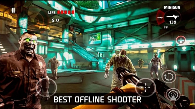 Main Game Dead Trigger Offline di Android
