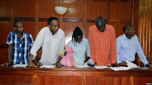 SHAMBULIZI LA KIGAIDI KENYA : WASHUKIWA SITA WAFIKISHWA MAHAKAMANI