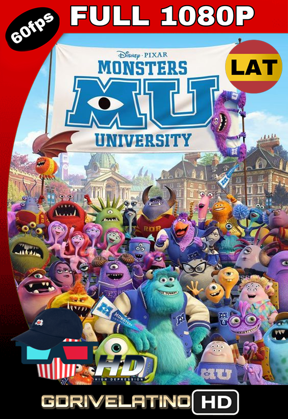 Monsters University (2013) BRRip FULL 1080p Latino MKV