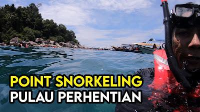 Point Untuk Snorkeling Di Pulau Perhentian