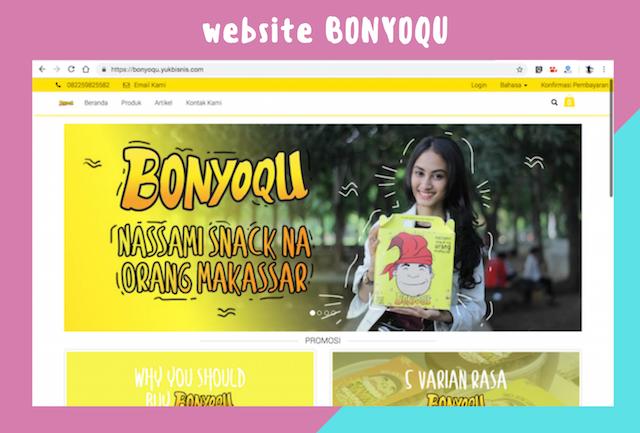 Website Bonyoqu