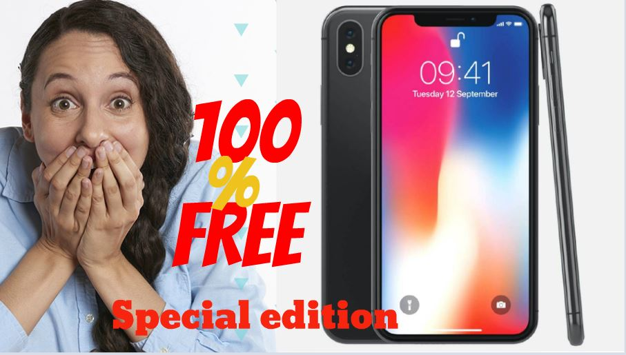 Update 2019] iPhone Giveaway How to get a iPhone 8 For free