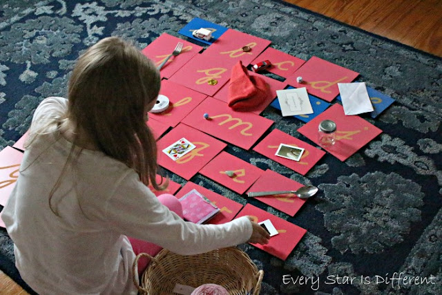 How to Use the Montessori Letters and Sounds Bundle with the Sandpaper Letters