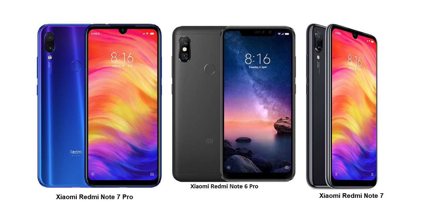 Tspn1 Xiaomi Redmi Note 7 Pro Vs Xiaomi Redmi Note 7 Vs Xiaomi