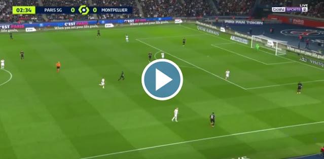PSG vs Montpellier Live Score