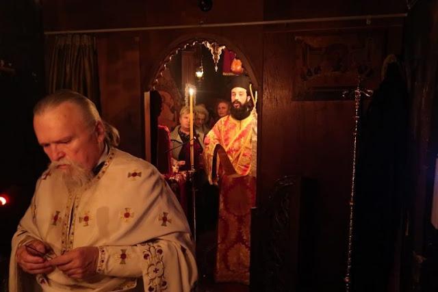 Ιερά Αγρυπνία στην Ιερά Μονή Αγίου Γεωργίου Νεράιδας Στυλίδας
