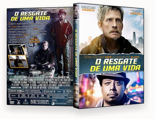 DVD – O RESGATE DE UMA VIDA 2018 – ISO