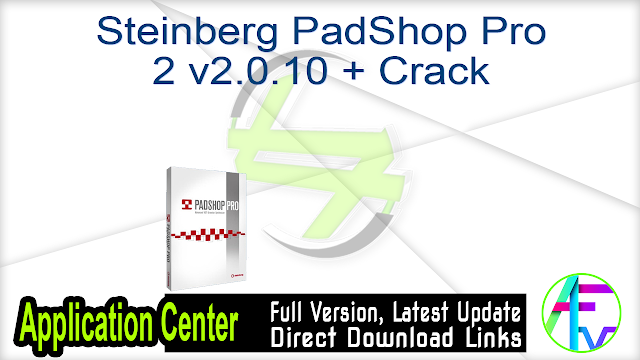 Steinberg PadShop Pro 2 v2.0.10 + Crack