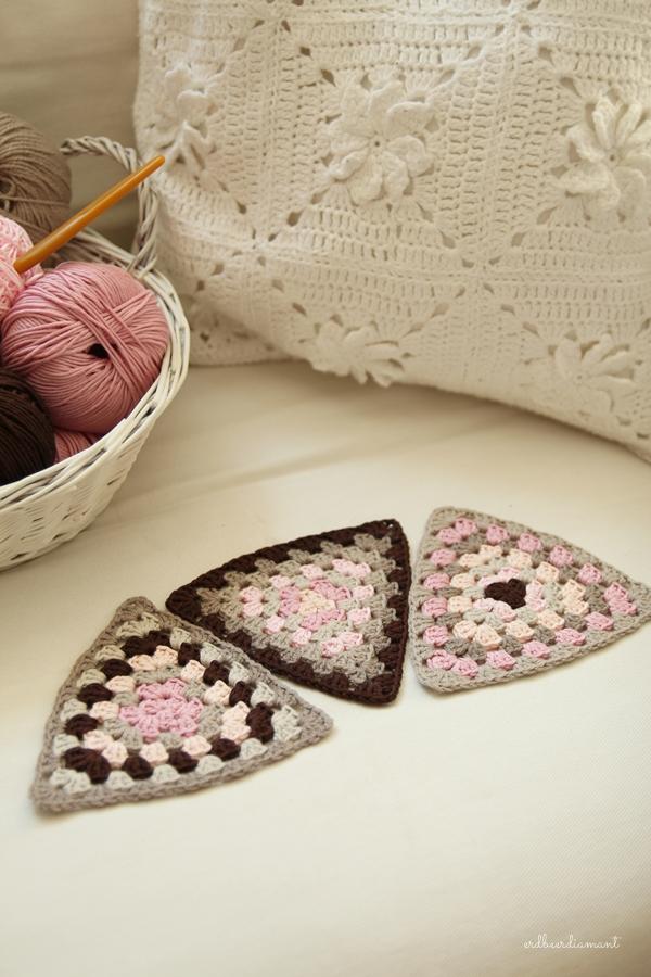 Crochet|Granny|Grannysquare|Granny Triangle|Crochetlove