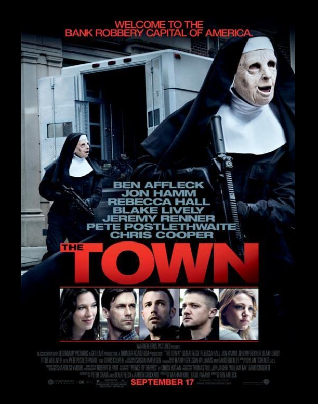 The Town 2010 Extended Alternate Cut x264 720p Esub BluRay Dual Audio English Hindi THE GOPI SAHI