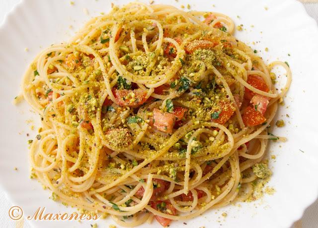 Паста с фисташками от Джейми Оливера. Итальянская кухня