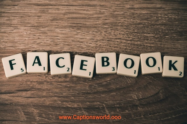Captions for facebook profile picture