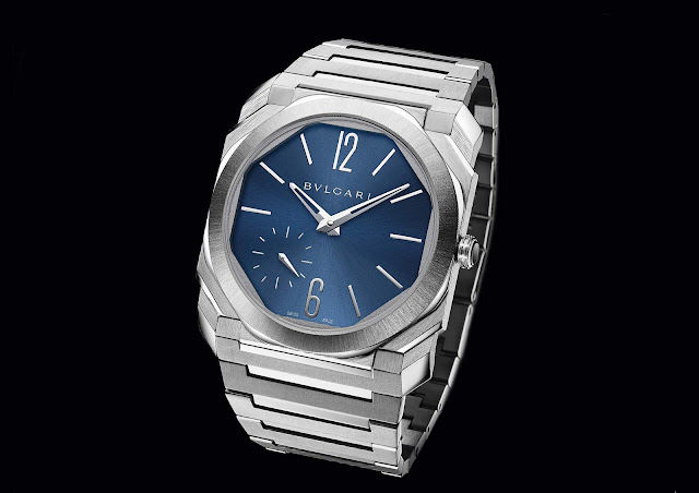 Bulgari Octo Finissimo Automatic in Steel with Blue dial 103431
