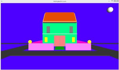 Grafika Tugas Membuat Rumah 3 Dimensi