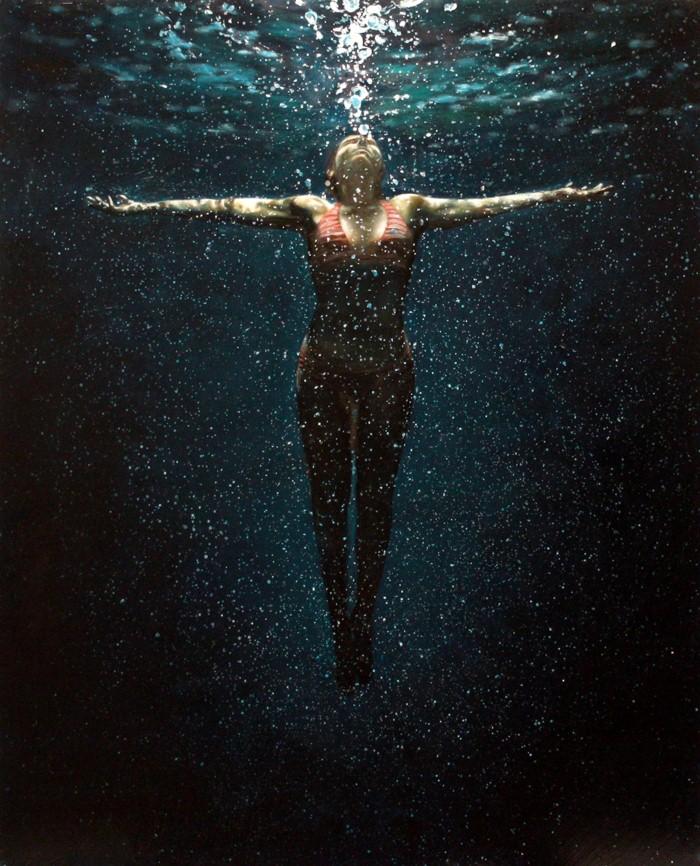 Eric Zener. Художник-самоучка. Вода и люди 17