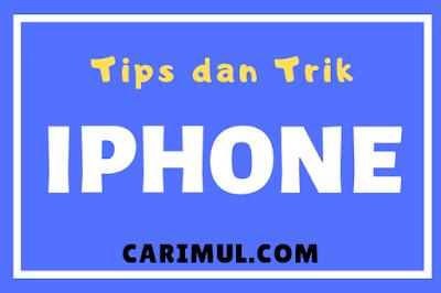 Tips menghapus data aplikasi iPhone