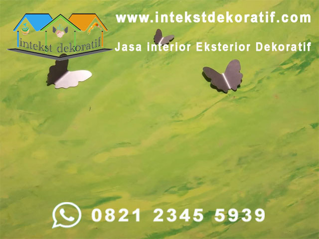 Harga Jasa Cat Dinding Motif Jabodetabek & Bandung