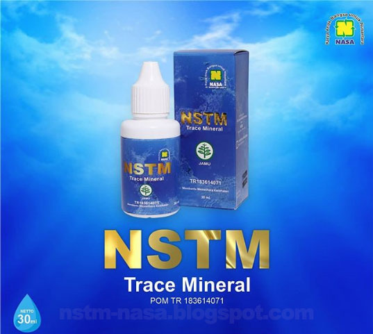 Nasa Super Trace Mineral, Suplemen Mineral Alami