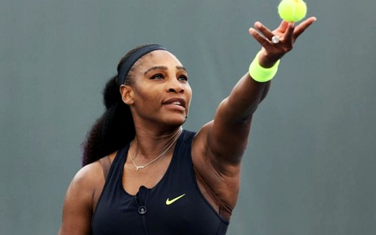 Serena Williams before Cincinnati and the us open masters tournament I have lung problems