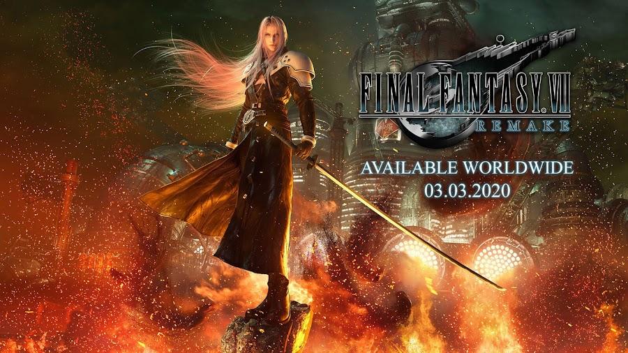 final fantasy 7 remake release date trailer e3 2019 square enix