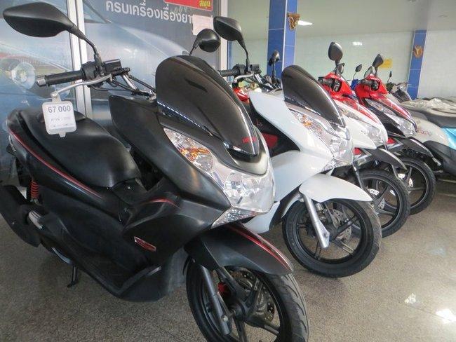 Honda pcx 150 цена за бу