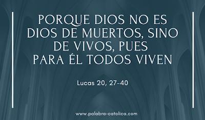 Evangelio del Día 23 de Noviembre - Lectura y Salmo de hoy