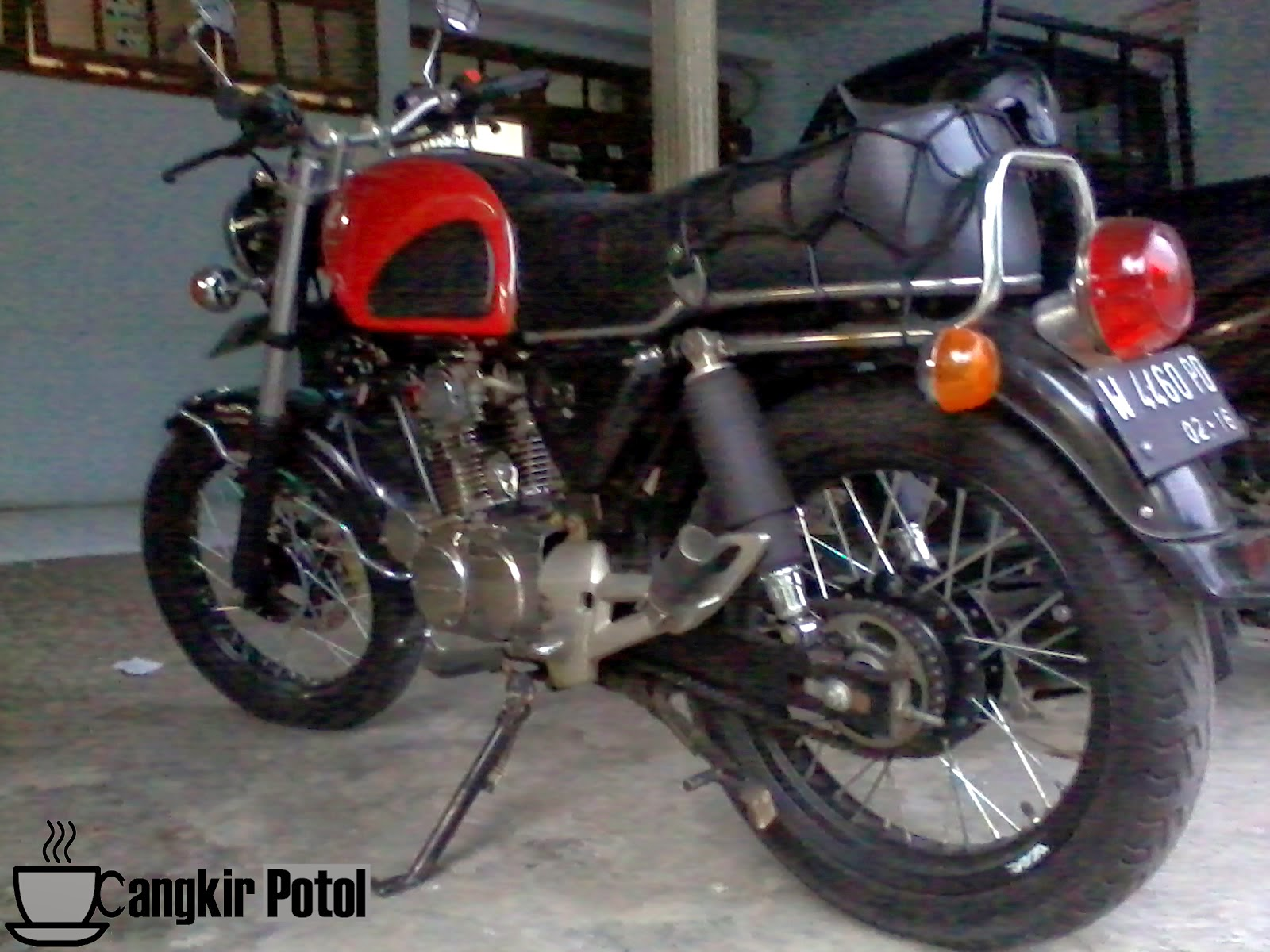 Download 72 Modifikasi Motor Honda Cb Dream Terupdate Fire Modif