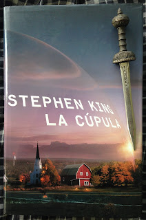 Portada del libro La cúpula, de Stephen King