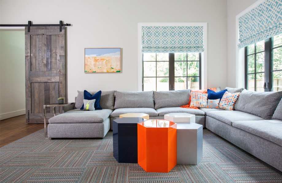home design modern coffee table barn door