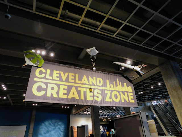 Great Lakes Science Center Cleveland Creates Zone #StayCuriousCLE