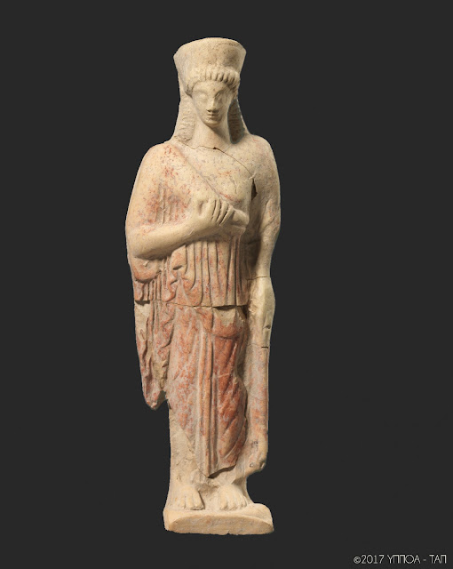 'Figurine – a microcosm made of clay' at the Archaeological Museum of Thessaloniki