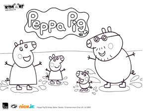 peppapig coloring2 jpg - Peppa Pig Coloring Pages Print