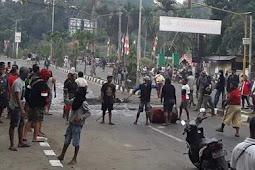 Polri: Masih Terjadi Aksi Blokade Jalan Di Kota Sorong
