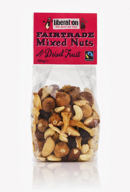 mixed fair trade Christmas nuts