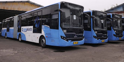 Hore, Hari Ini Naik Bus Transjakarta Gratis