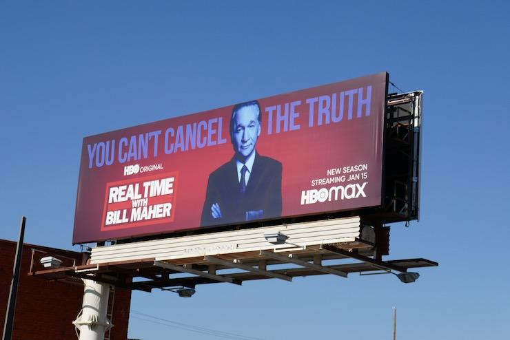 Real Time Bill Maher season 19 billboard