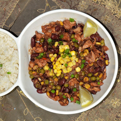 Chili Beans with Chicken Gluten-Free/Dairy-Free