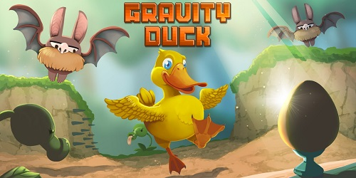 Gravity Duck is about controlling gravity