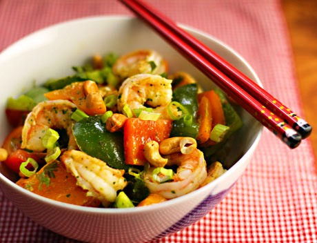 Cajun Shrimp with Vegetables - 5