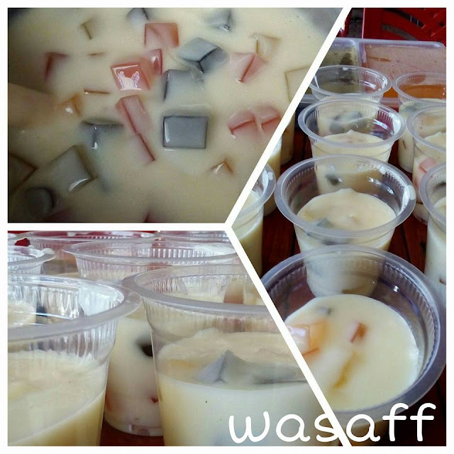 Resep Membuat Minuman Jelly Vla Murah dan Enak