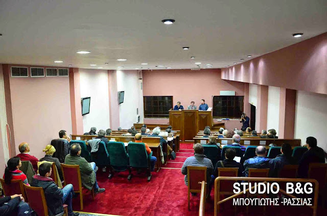 Δημοτικό Συμβούλιο στο Άργος με 15 θέματα στις 29 Νοεμβρίου 2016