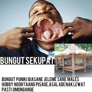 Jenis-jenis Bungut Jele ane Ade di Bali