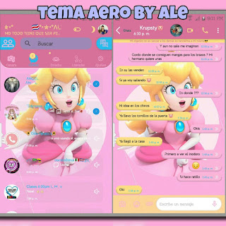 Princesa Theme For YOWhatsApp & Aero WhatsApp By Ale