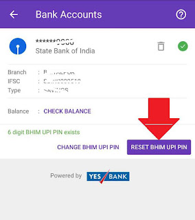 how to forgot upi pin in phonepe